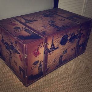 Vintage decorative luggage case